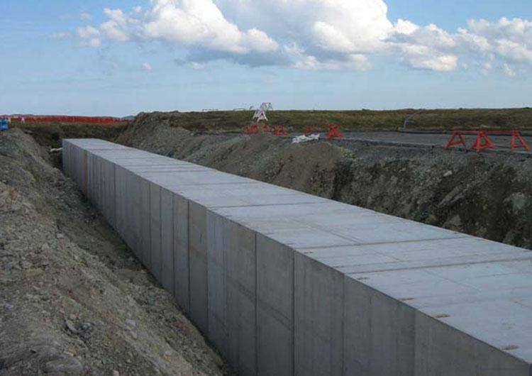 precast concrete casting